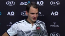 Video «Federer über Mischa Zverev» abspielen