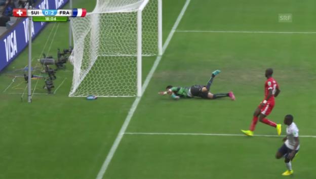 Video «FIFA WM 2014: Schweiz - Frankreich: Die Live-Highlights» abspielen