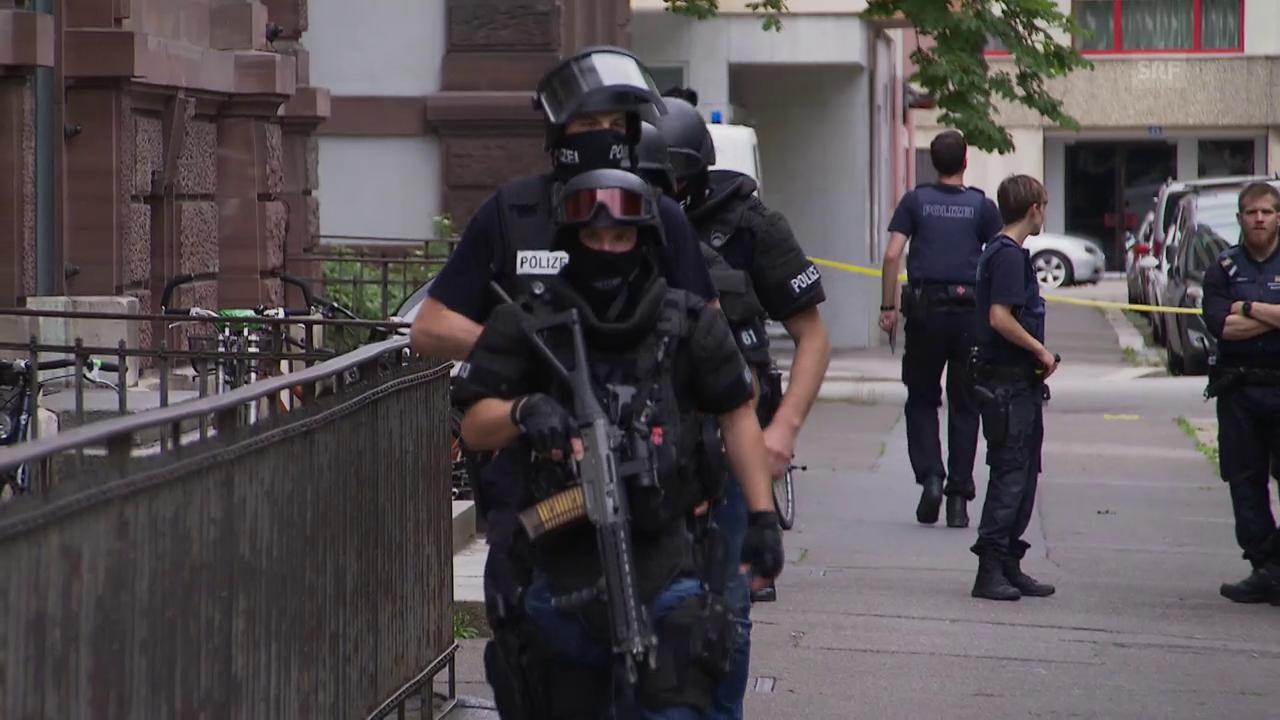 Polizeieinsatz Schule Basel