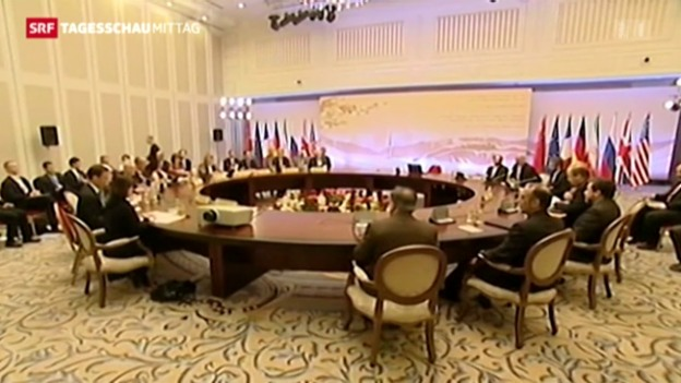 Video «Atomkonferenz zum Iran» abspielen