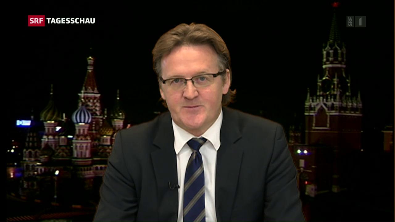 Christof Franzen zur Rolle Russlands im Syrien-Krieg