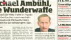 Video «Rücktritt von Michael Ambühl» abspielen