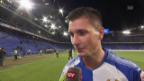 Video «Milan Vilotic in Interview über sein Eigentor» abspielen