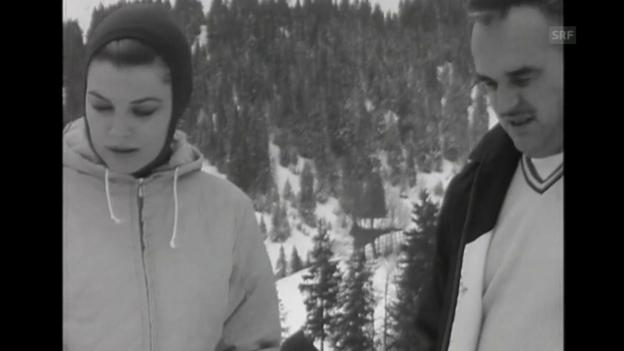Video ««Fürst Rainier und Grace Kelly in den Ferien», Tagesschau, 12.2.1961» abspielen