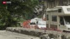 Video «Stau am Simplon wegen Baustelle» abspielen