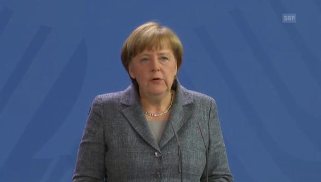 Video «Merkel zu Paragraf 103» abspielen