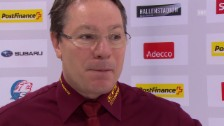 Video «Eishockey: Interview mit Chris McSorley» abspielen