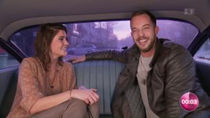 Video «Annina Frey: In der Limo mit James Morrison» abspielen