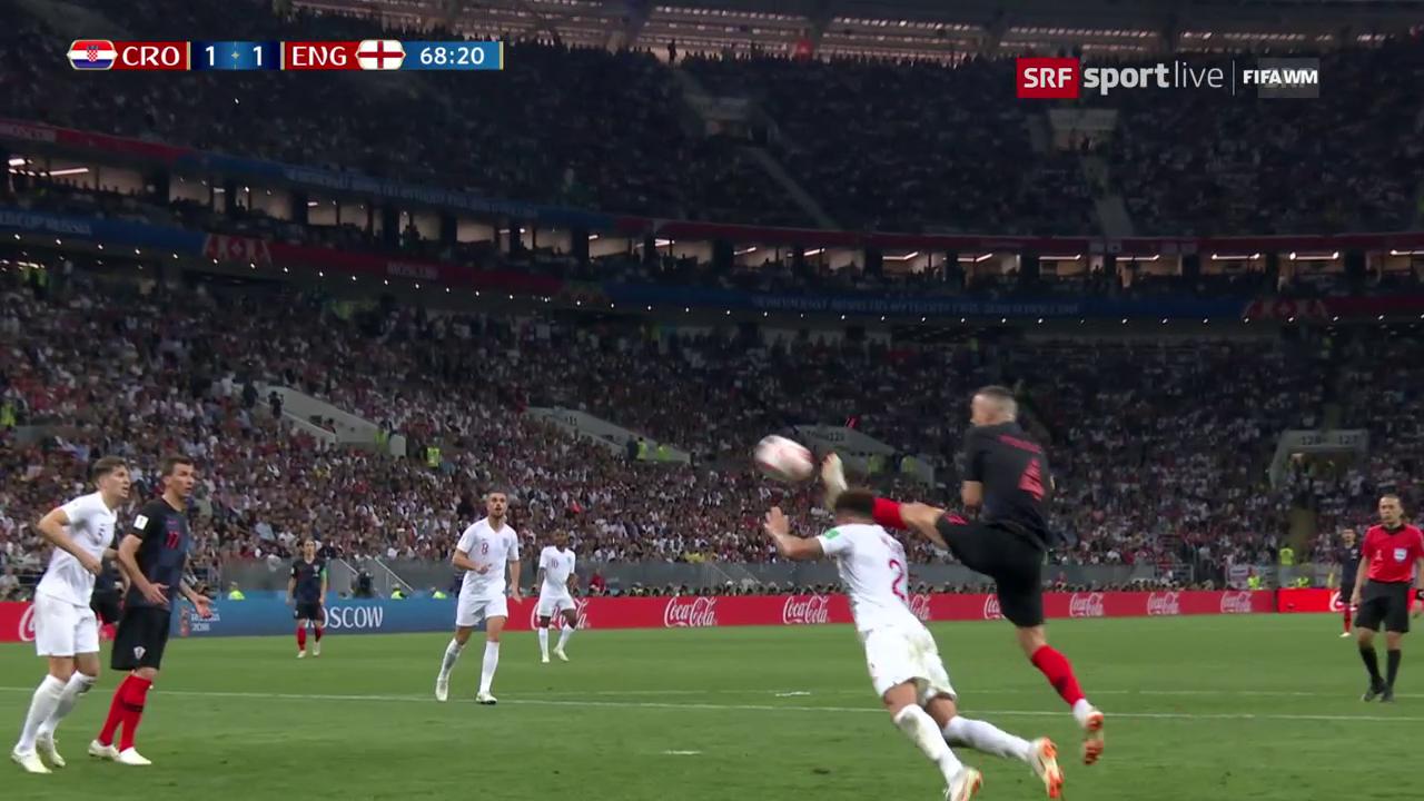 Perisic gleicht für Kroatien aus