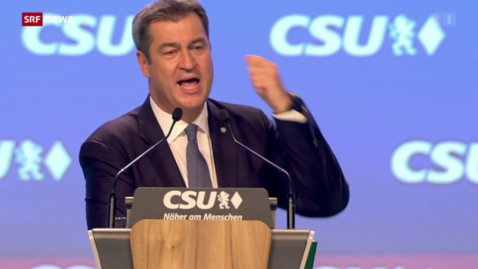 Söder demonstriert Geschlossenheit mit der CDU