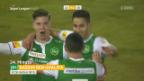 Video «Lausanne verliert zuhause mit 1:4 gegen St. Gallen» abspielen