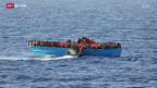 Video «EU verschärft Kampf gegen Schlepper» abspielen