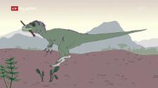 Link öffnet eine Lightbox. Video Ralph und die Dinosaurier: Dryptosaurus (4/26) abspielen