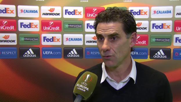 Video «Fussball: Europa League, 6. Spieltag, Sion - Liverpool, Interview mit Didier Tholot» abspielen