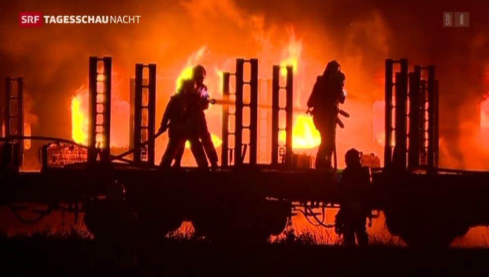 Brände in Schlieren und Etzwilen
