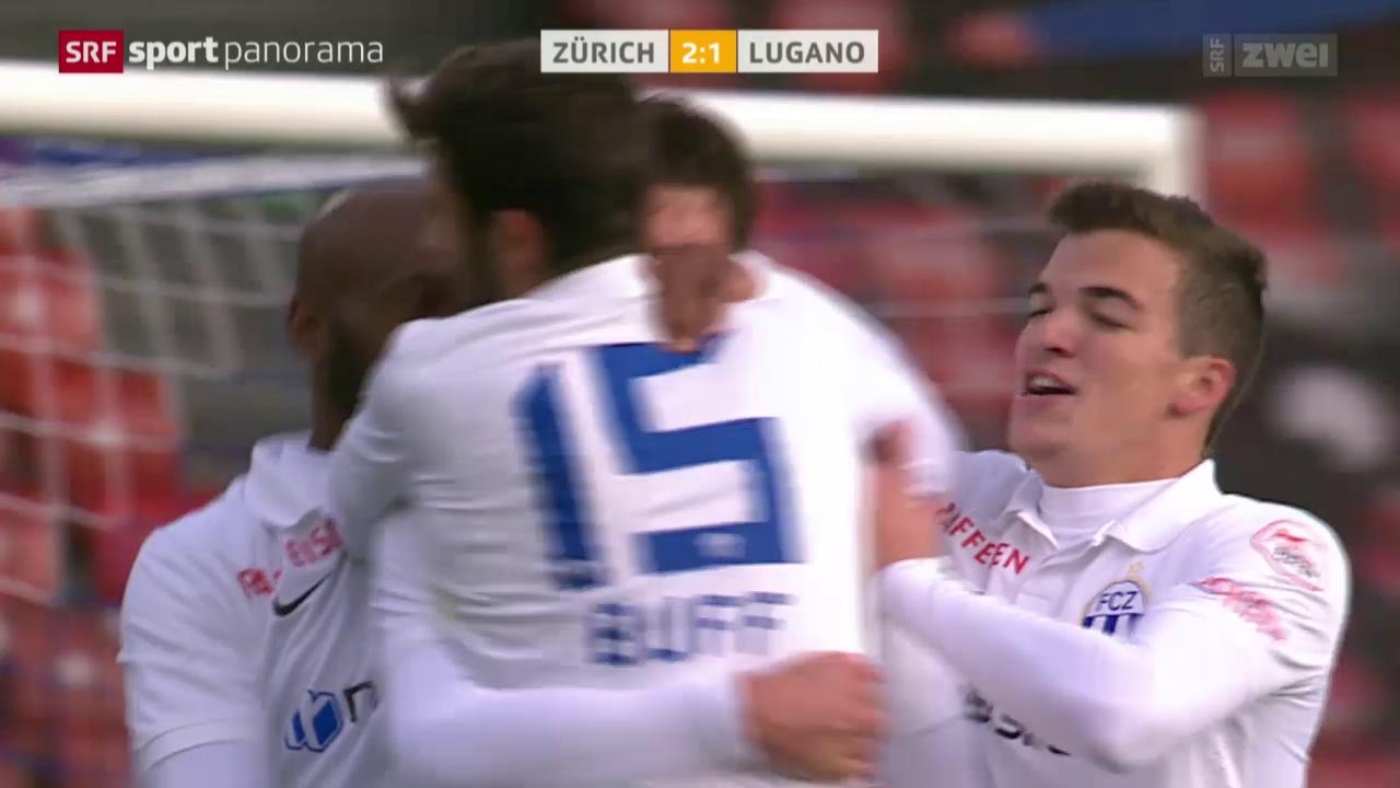 Fussball: FC Zürich - Lugano