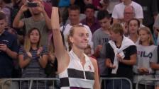 Link öffnet eine Lightbox. Video Kvitova überlässt Bencic nur 5 Games abspielen