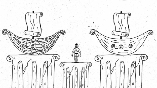 Video «Filosofix: Das Gedankenexperiment «Das Schiff des Theseus»» abspielen