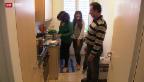 Video «Tag der offenen Tür in der Asylunterkunft Aarburg» abspielen