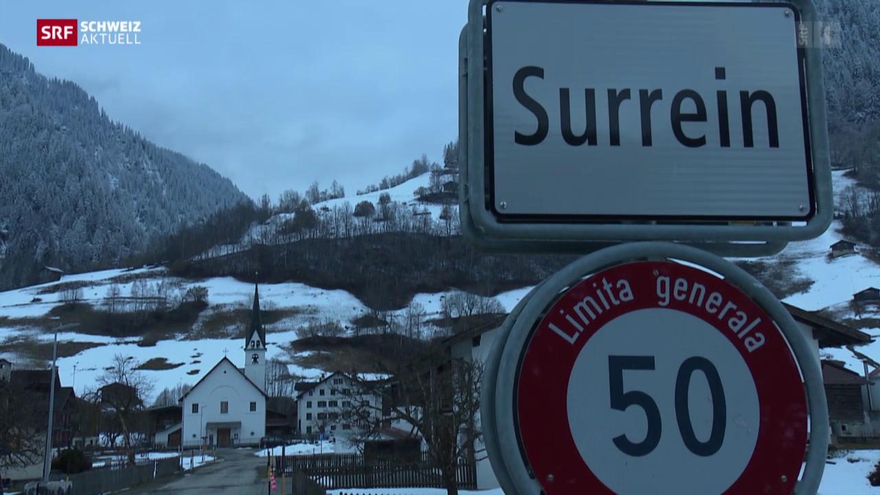 Dunkles Dorf