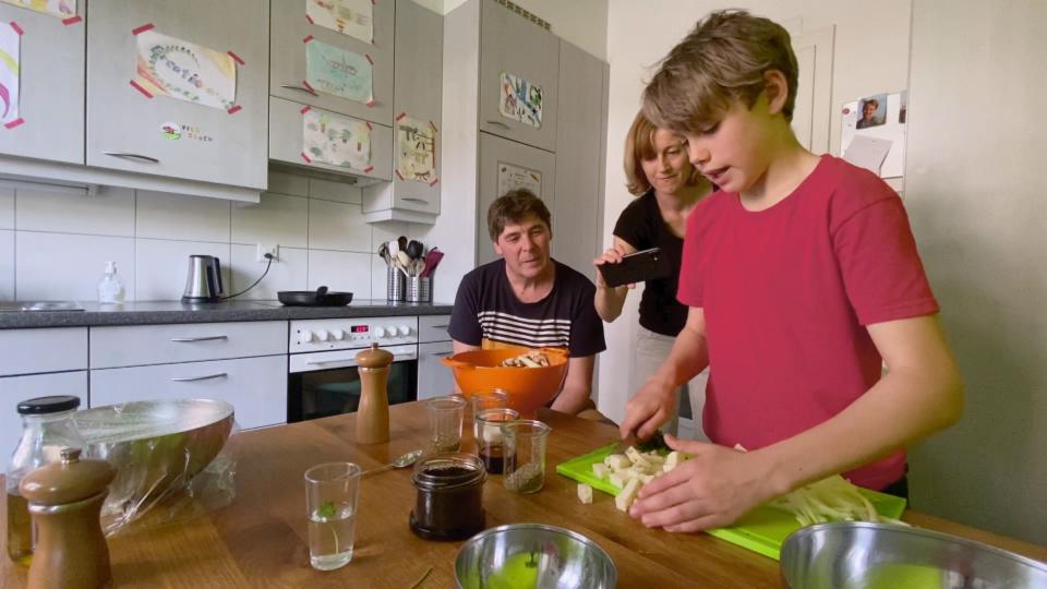 «Jetzt koche ich!» - Couscous mit Pilzen und Halloumi