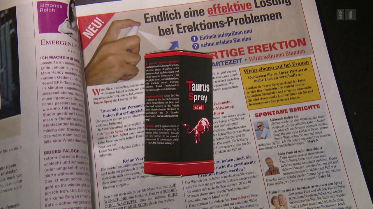 Potenz aus der Dose: Erektionsspray im Härtetest