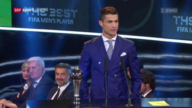 Video «Ronaldo ist Weltfussballer des Jahres» abspielen