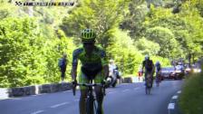 Video «Rad: Tour de France, 11. Etappe, Angriff Majka» abspielen