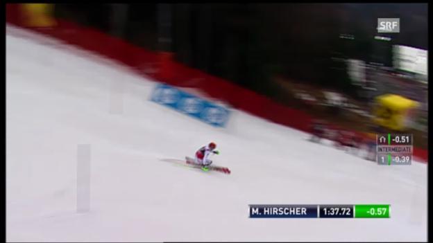 Video «2. Lauf Marcel Hirscher» abspielen