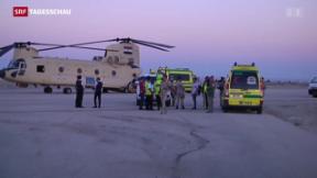 Video « 224 Tote bei Absturz in Ägypten» abspielen