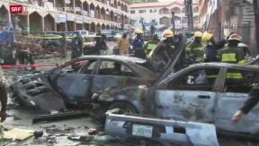 Video «21 Tote bei Attentat in Nigeria » abspielen