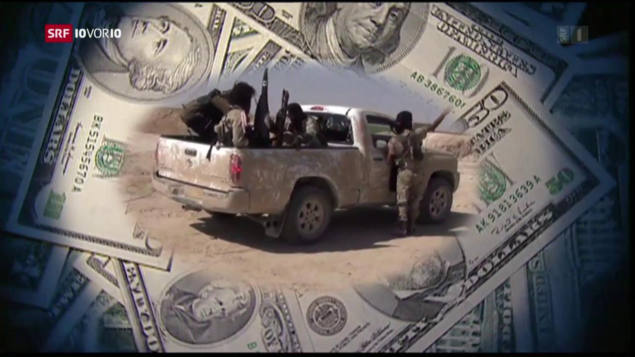 FOKUS: Wie finanziert sich der IS?