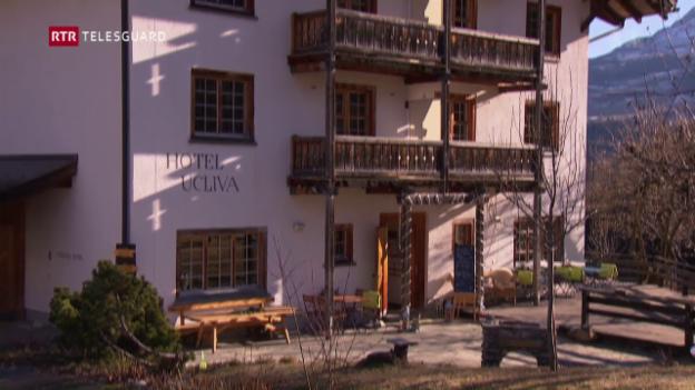 Laschar ir video «Il hotel Ucliva è en pitgiras e sto forsa serrar.»