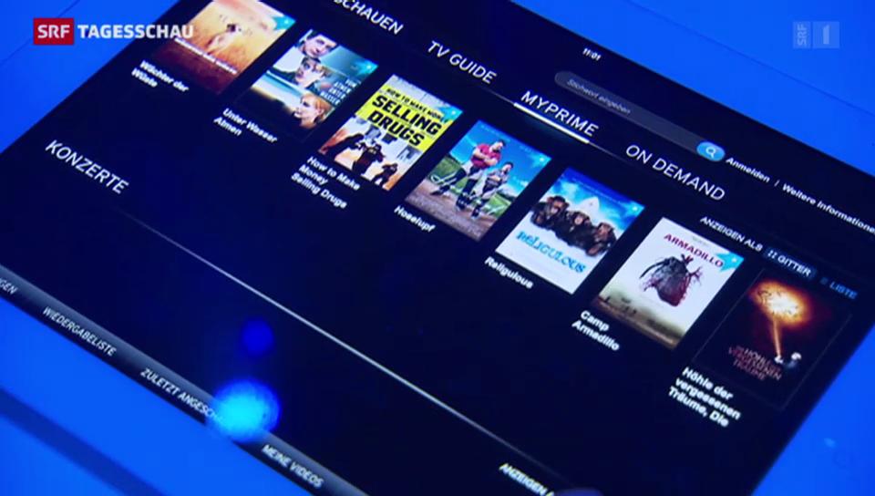 Schweizer Angebot gegen amerikanisches Internet-TV