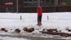 Video «Endspurt am Engadin Skimarathon» abspielen