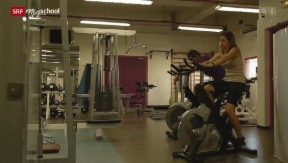 Video «Rendez-vous à Nice: Au fitness (9/20)» abspielen