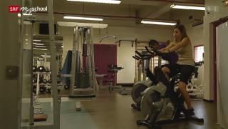 Video «Rendez-vous à Nice: Au fitness (9/20)» abspielen