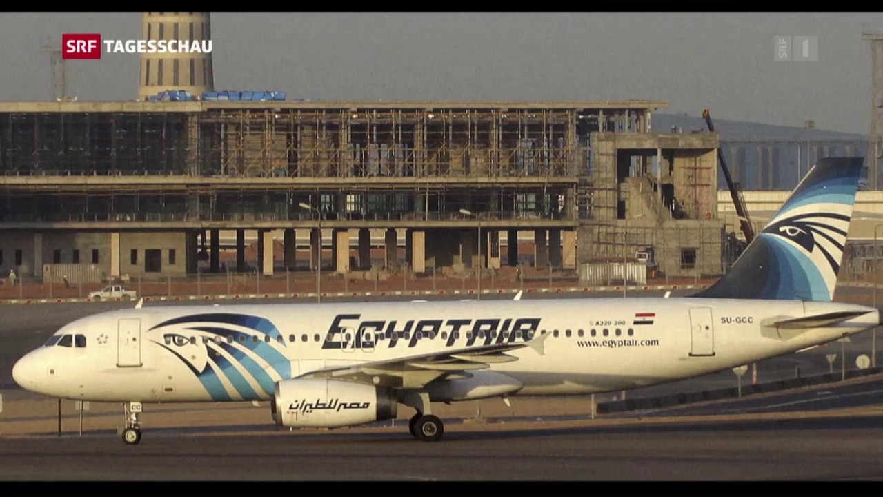 Egypt-Air-Unglück: Rauchalarm vor Absturz