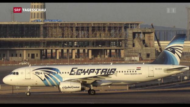 Video «Egypt-Air-Unglück: Rauchalarm vor Absturz» abspielen