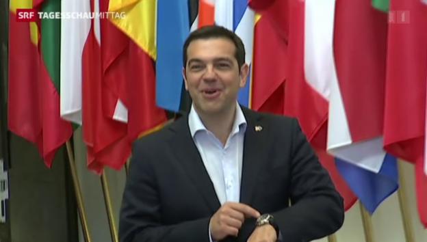 Video «Griechenland-Krise: Wenig konkretes» abspielen