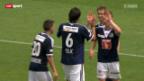 Video «Fussball: FC Luzern - FC Zürich» abspielen