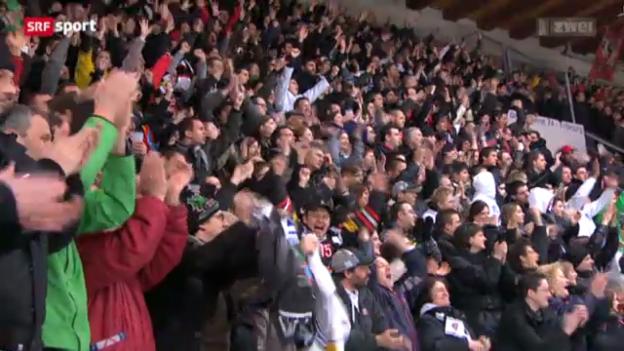 Video «Eishockey: Fribourg - Biel» abspielen