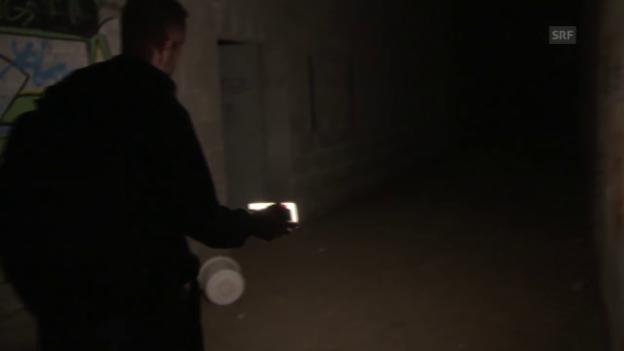 Video «Augenschein in der Asphaltfabrik» abspielen