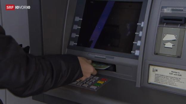 Video «Der Bankomat, Mangelware auf dem Land (10vor10, 25.02.2013)» abspielen
