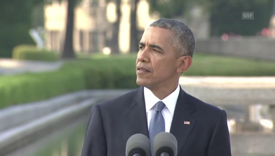 Obama: «Aus den USA und Japan wurden Verbündete und Freunde.»