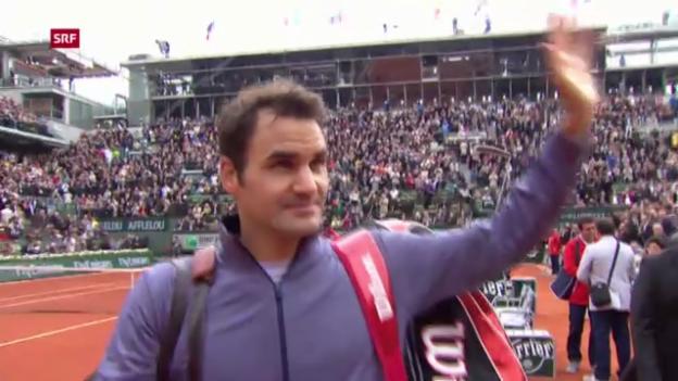 Video «French Open: Federer - Benneteau («sportaktuell»)» abspielen