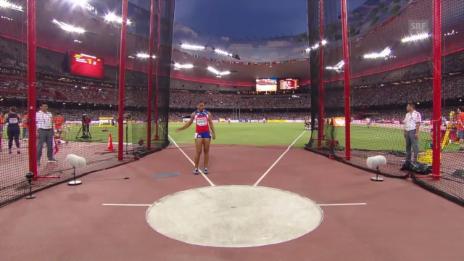 Video «LA: WM Peking, Diskuswerfen Frauen» abspielen