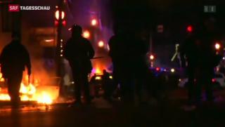 Video «Rassenunruhen nach Entscheid im Fall Brown» abspielen