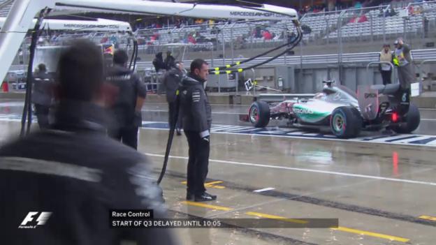Video «Formel 1: GP USA, Qualifying» abspielen