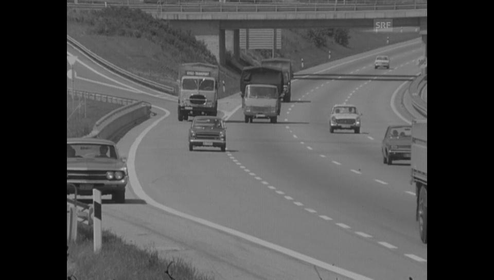 23. Juni 1972: Fahrregeln auf der Autobahn
